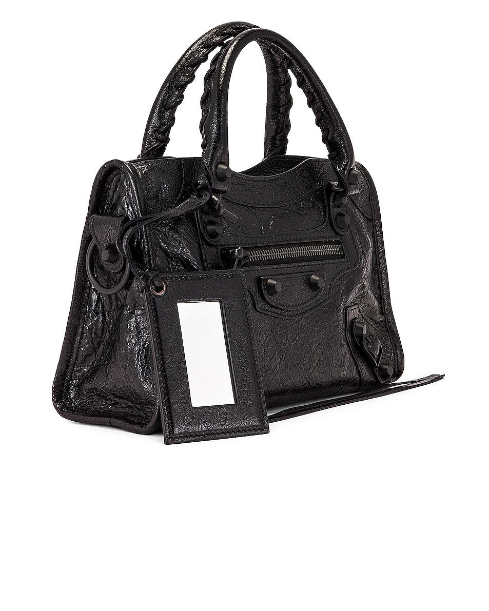 Image 4 of Balenciaga Mini Classic City Bag in Black