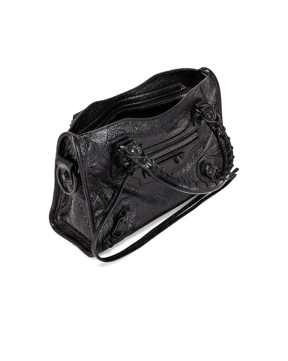 Image 5 of Balenciaga Mini Classic City Bag in Black