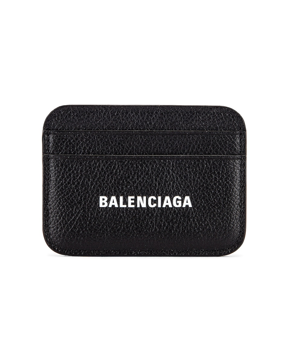 Image 1 of Balenciaga Cash Card Holder in Black & White