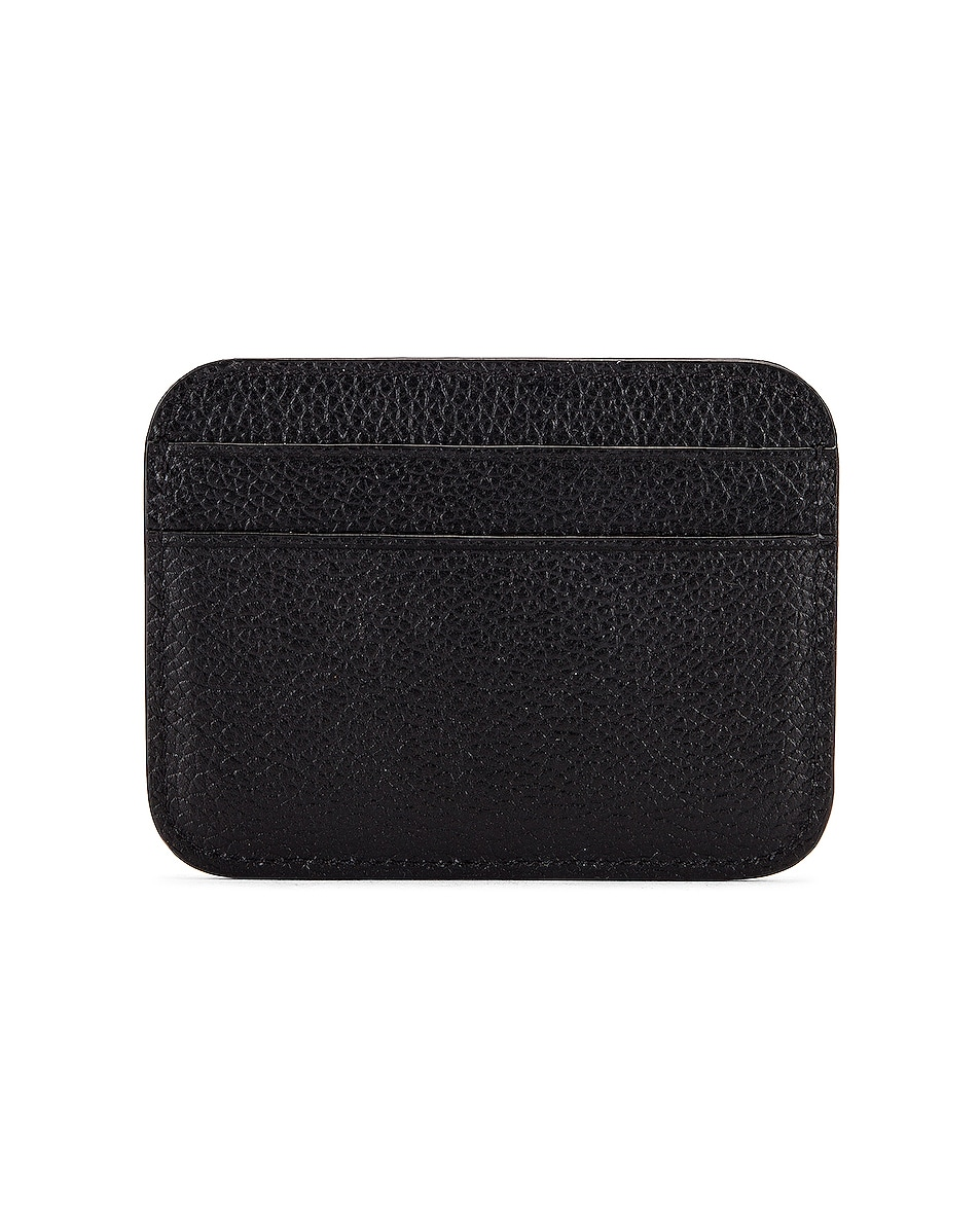 Image 2 of Balenciaga Cash Card Holder in Black & White