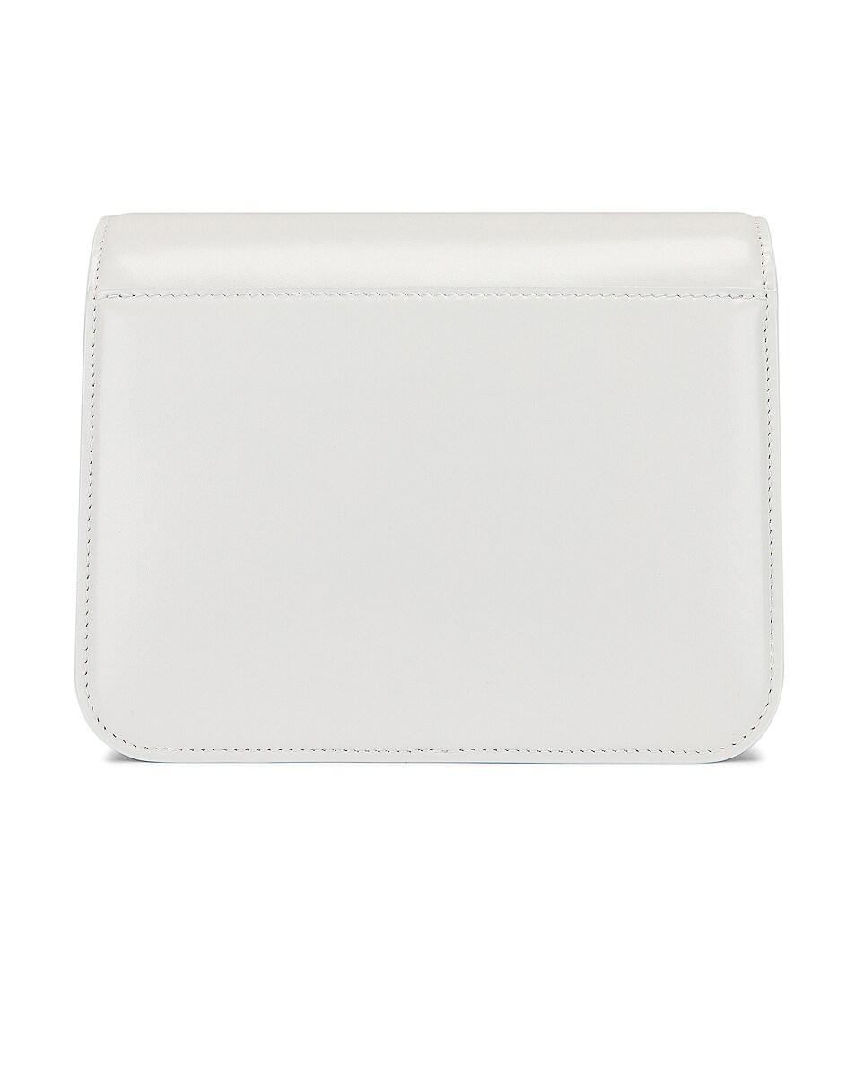 Image 3 of Balenciaga Small B Bag in White