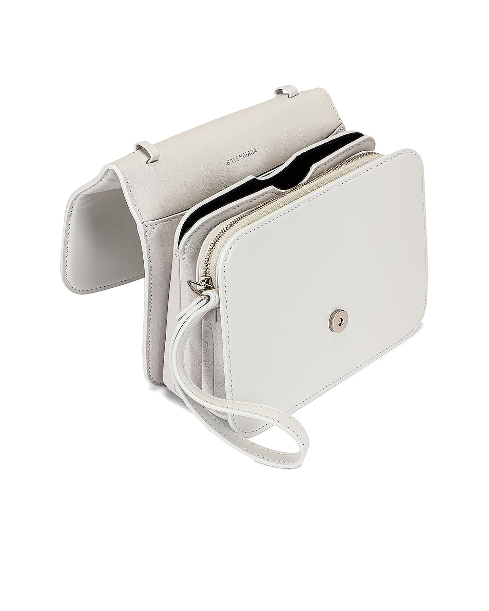 Image 5 of Balenciaga Small B Bag in White