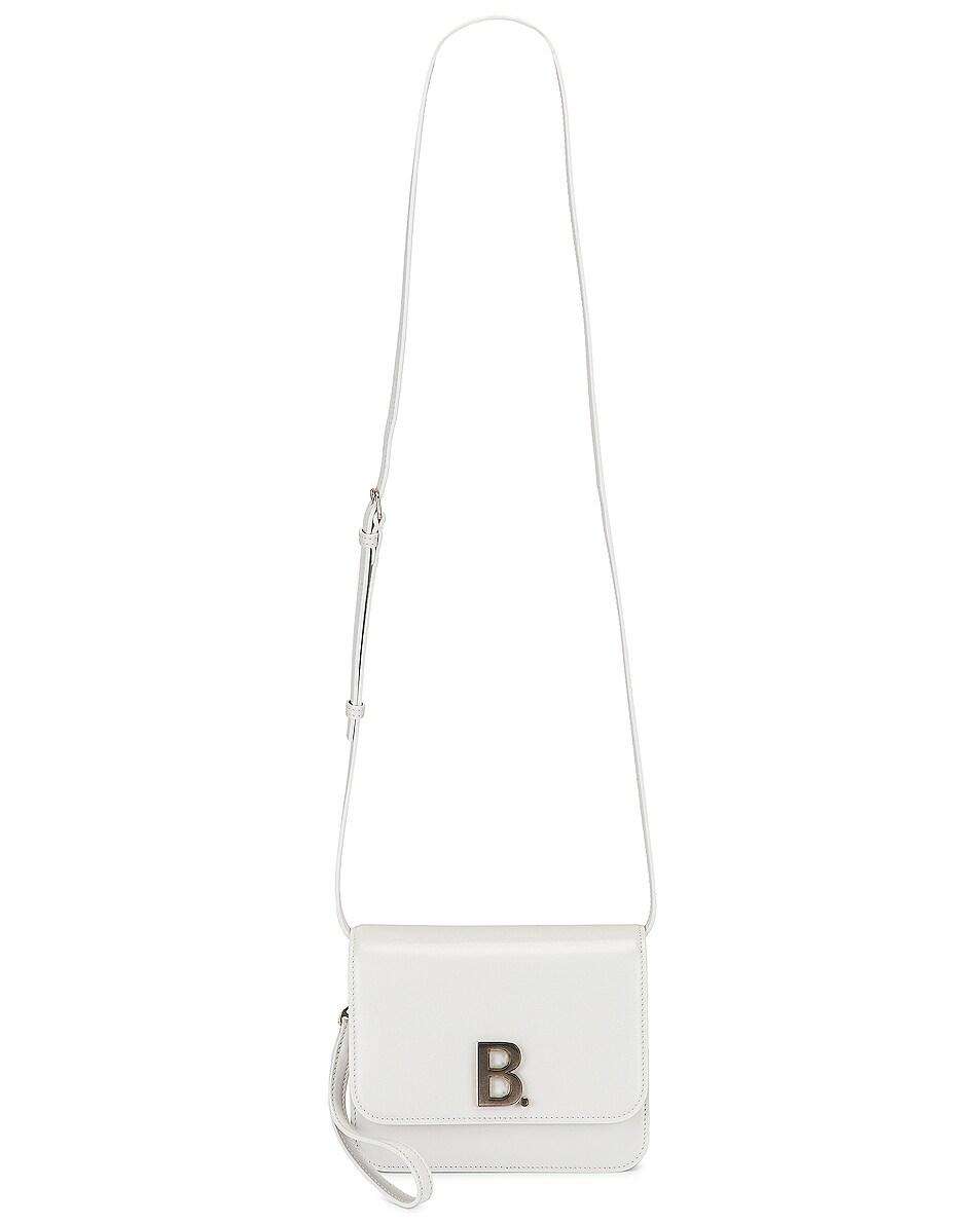 Image 6 of Balenciaga Small B Bag in White