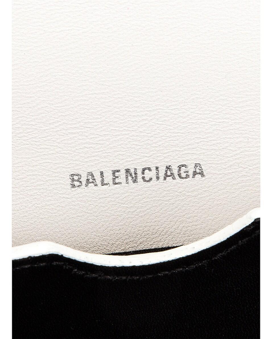 Image 7 of Balenciaga Small B Bag in White