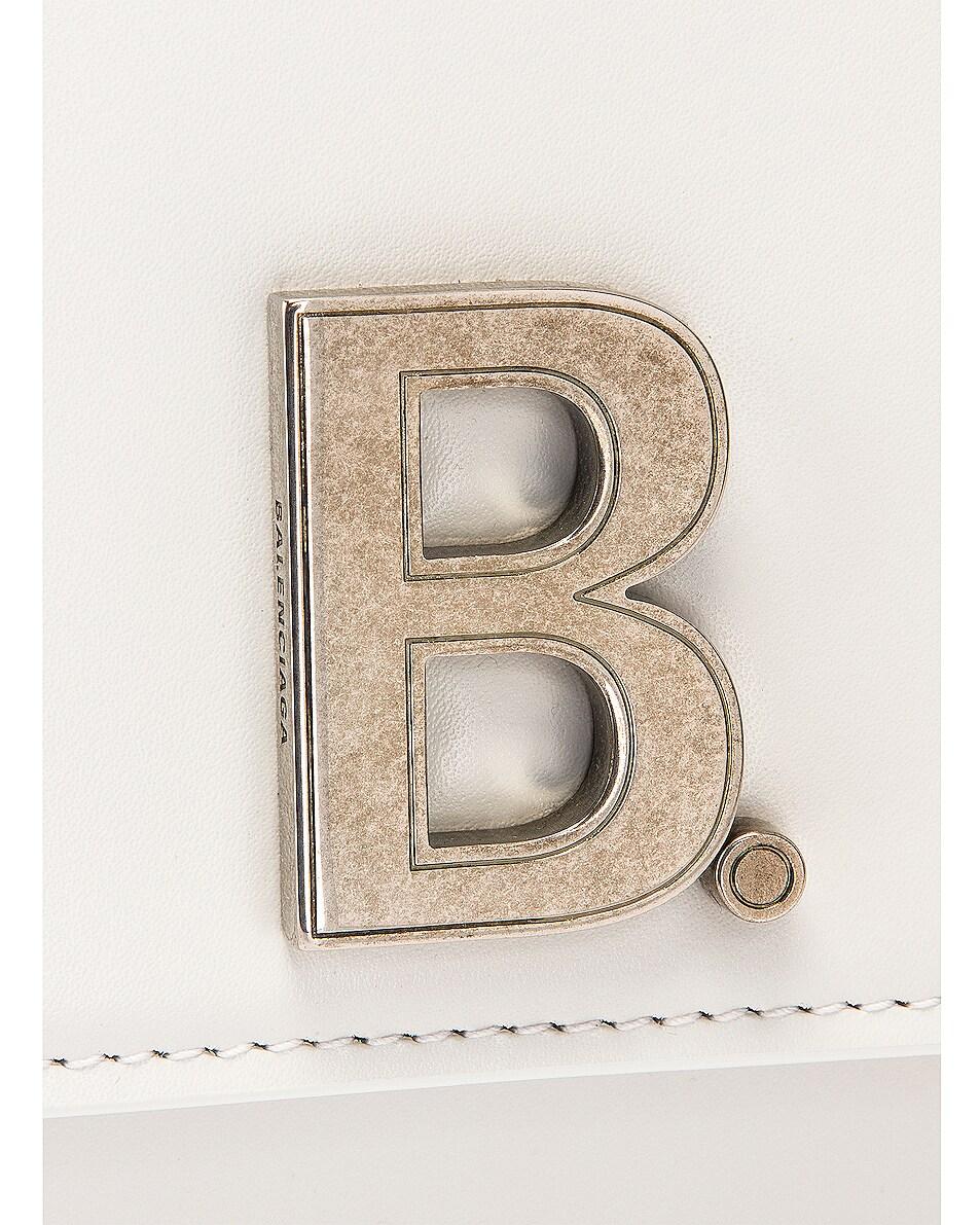 Image 8 of Balenciaga Small B Bag in White
