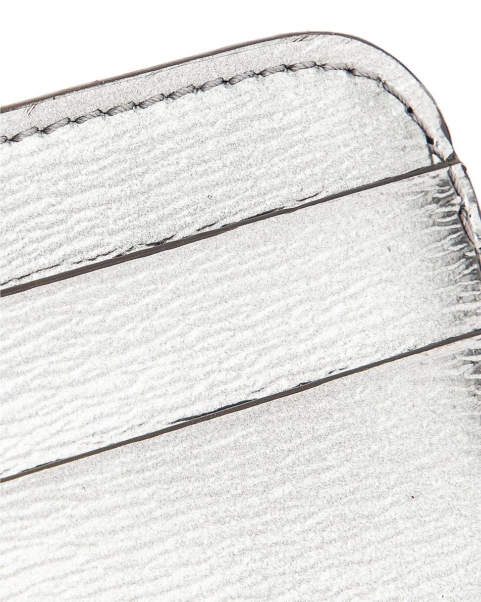 Image 6 of Balenciaga BB Card Holder in Silver