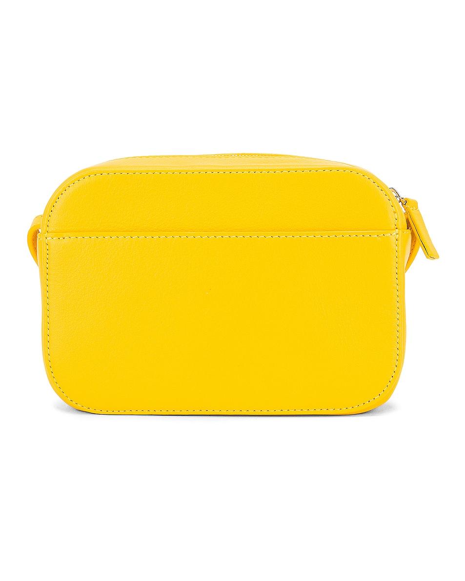 Image 3 of Balenciaga XS Logo Everyday Camera Bag in Yellow & Black