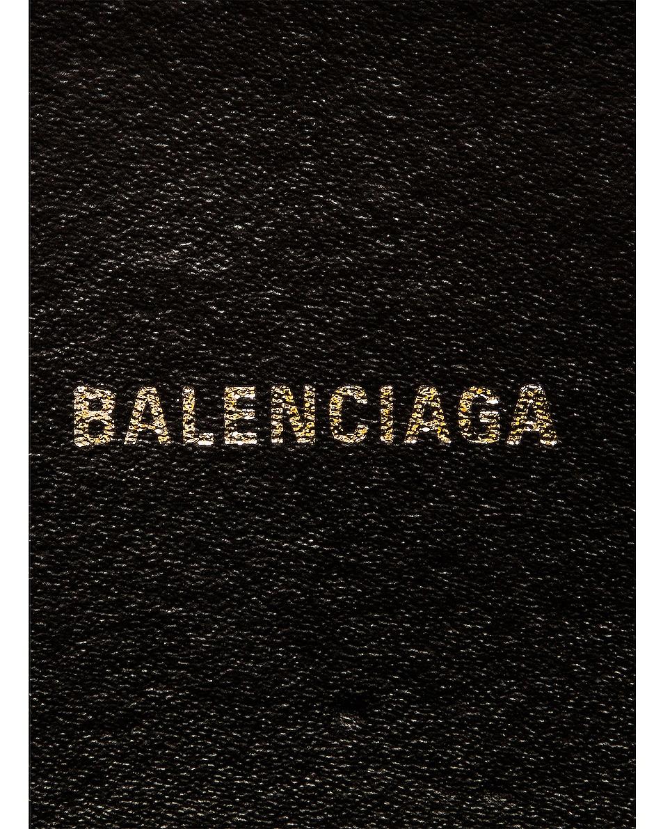 Image 7 of Balenciaga XS Logo Everyday Camera Bag in Yellow & Black