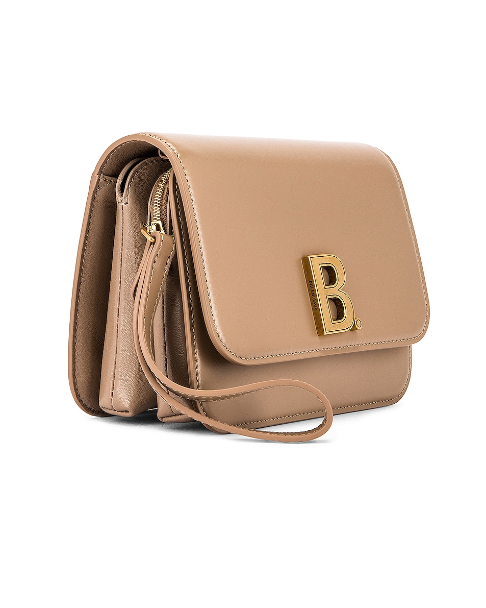 Image 4 of Balenciaga Small B Bag in Sand