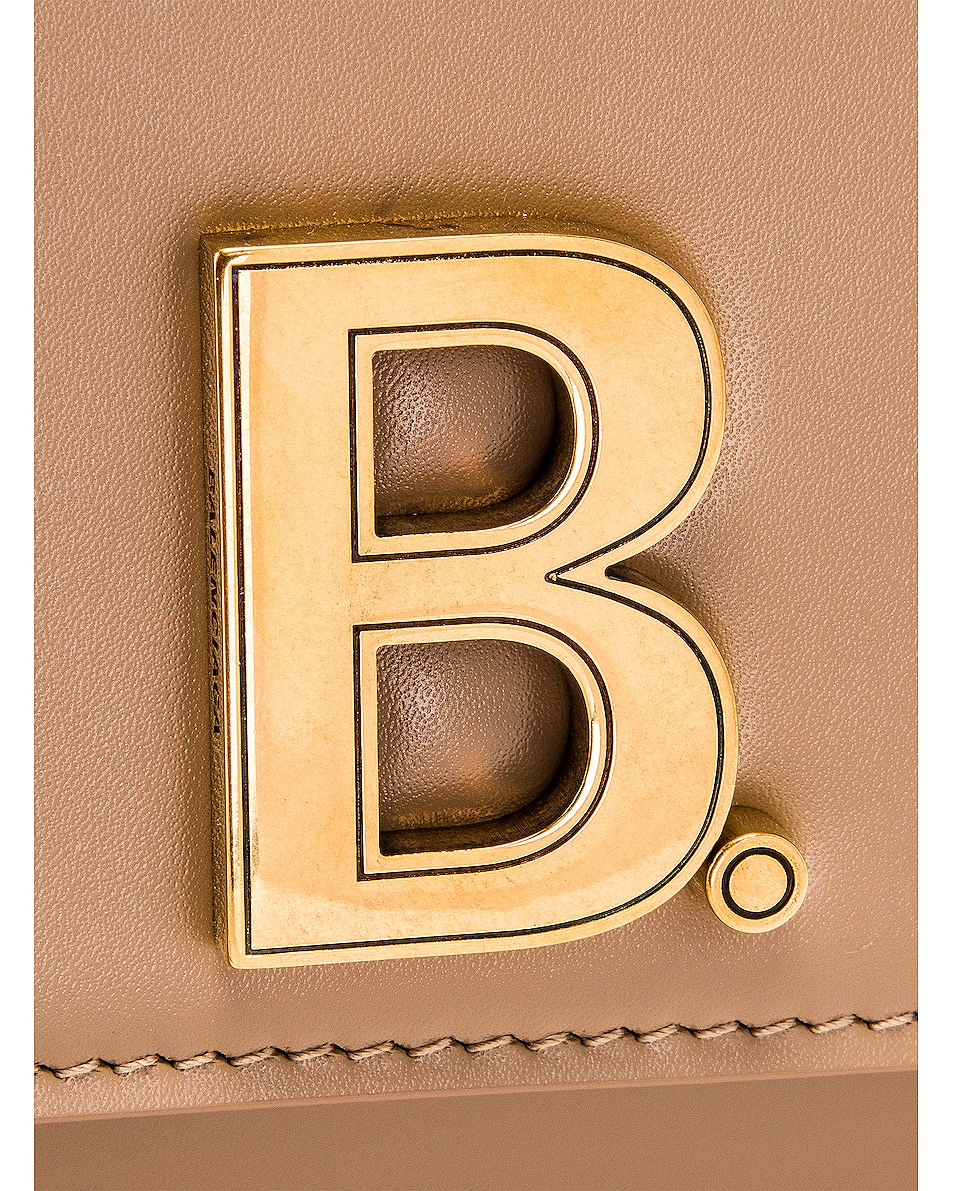 Image 8 of Balenciaga Small B Bag in Sand