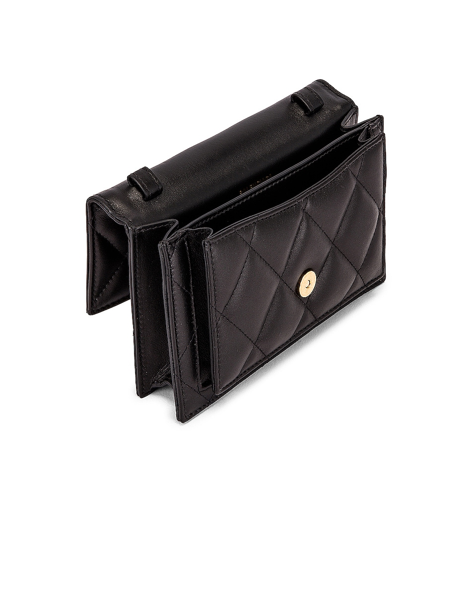 Image 5 of Balenciaga XS Quilted Leather Sharp Belt Bag in Black