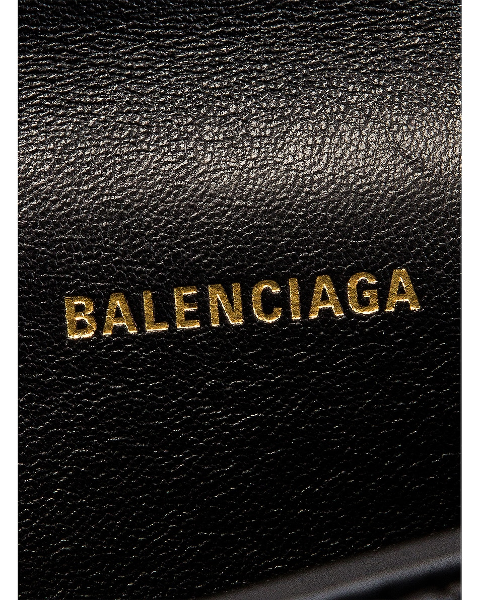Image 6 of Balenciaga XS Quilted Leather Sharp Belt Bag in Black