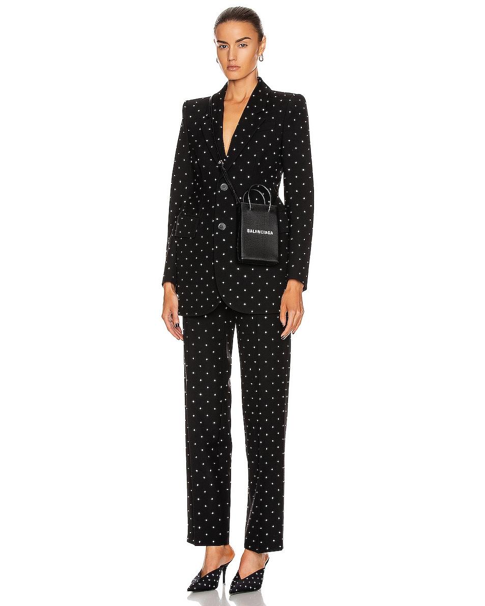 Image 2 of Balenciaga Shop Phone Holder Bag in Black