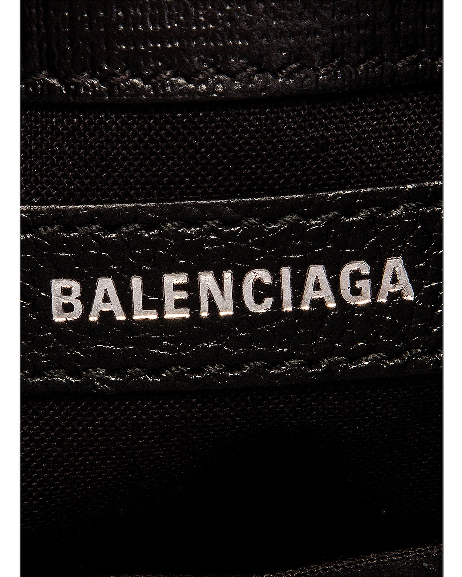 Image 7 of Balenciaga Shop Phone Holder Bag in Black