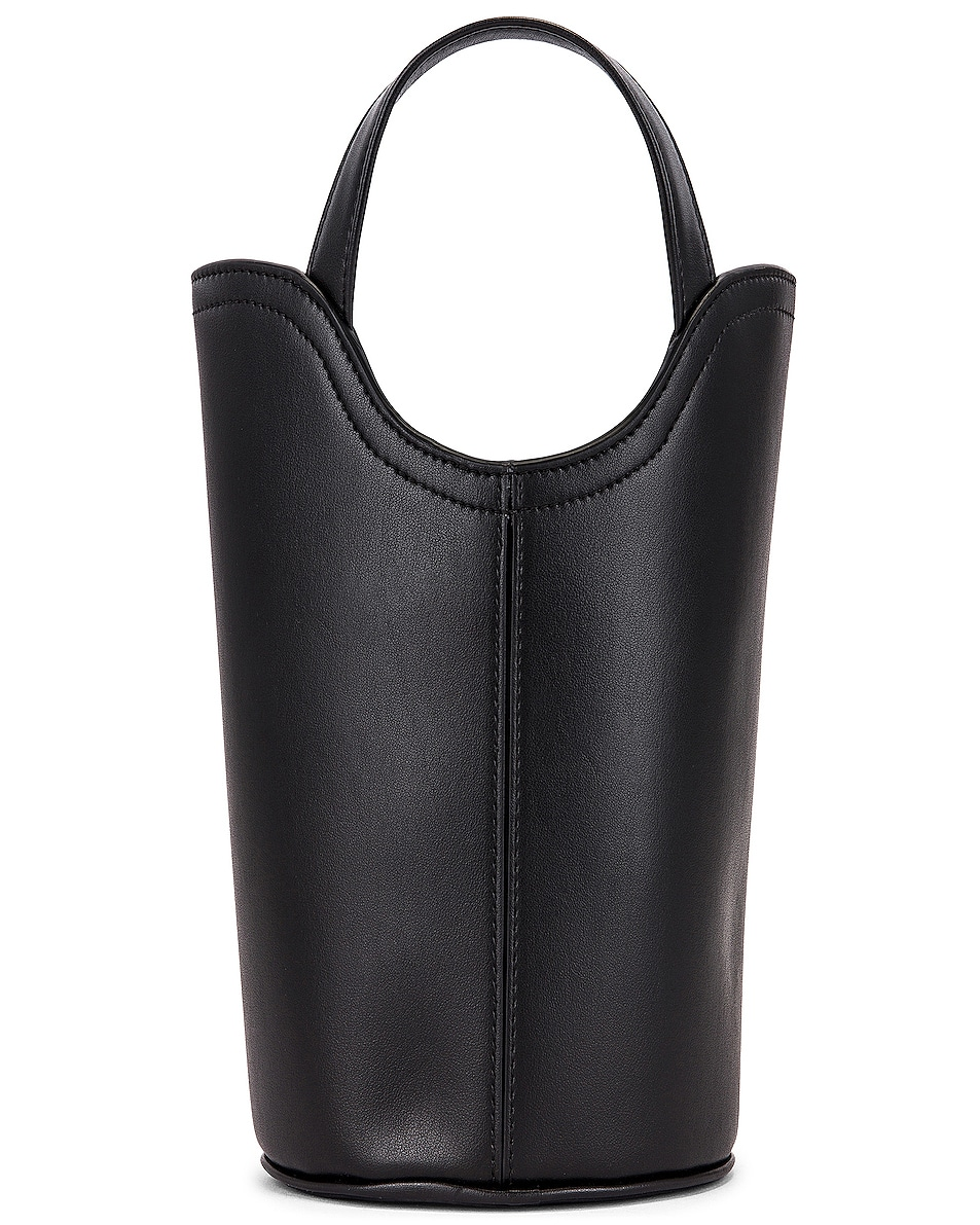 Image 3 of Balenciaga XS Wave Tote in Black