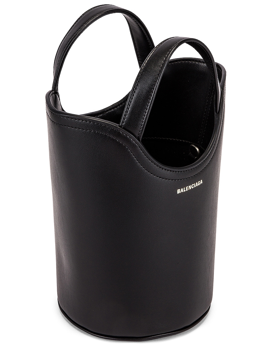 Image 5 of Balenciaga XS Wave Tote in Black