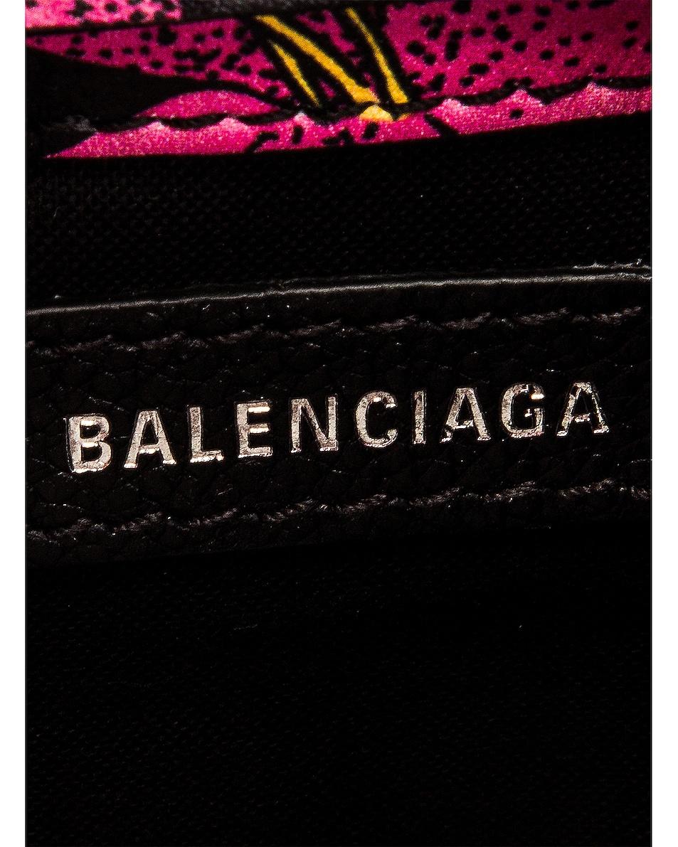 Image 7 of Balenciaga Floral Shop Phone Holder Bag in Multicolor
