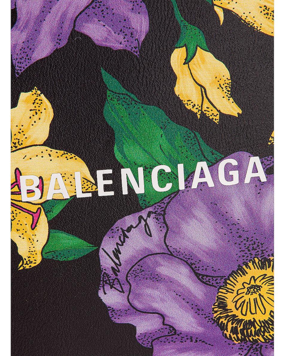 Image 8 of Balenciaga Floral Shop Phone Holder Bag in Multicolor