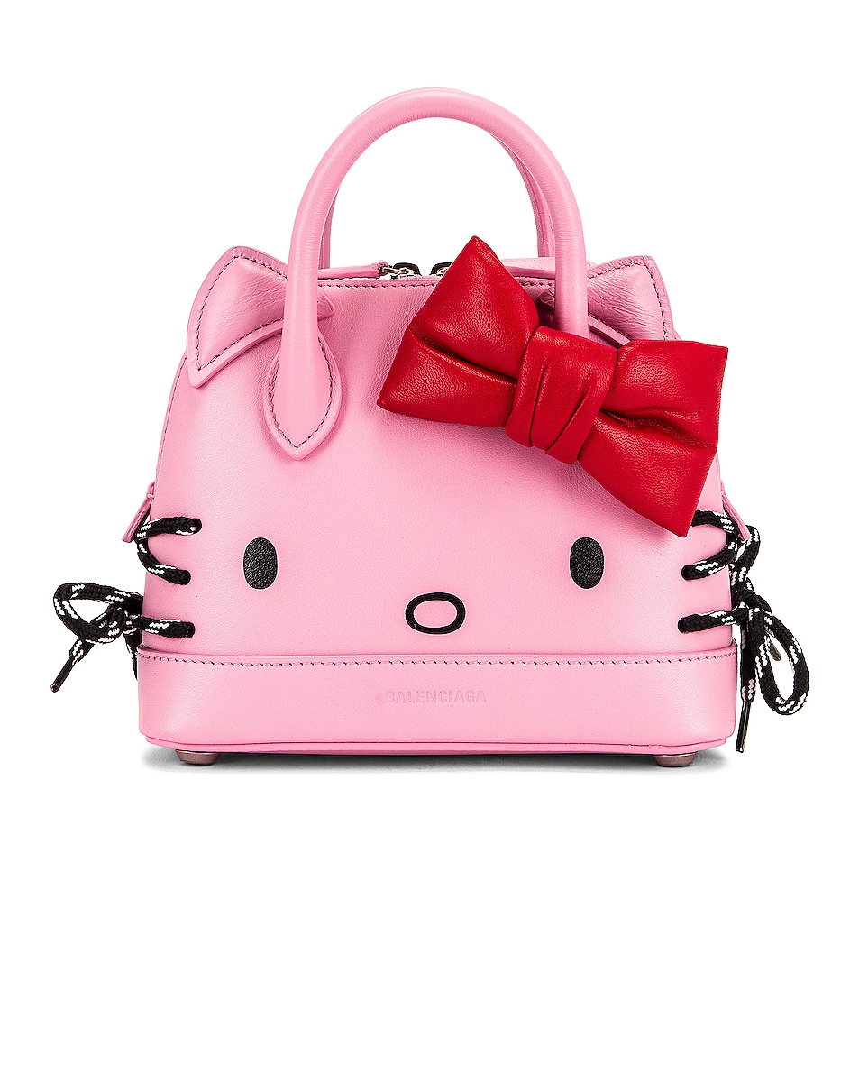 Image 1 of Balenciaga XXS Kitty Top Handle Bag in Pink