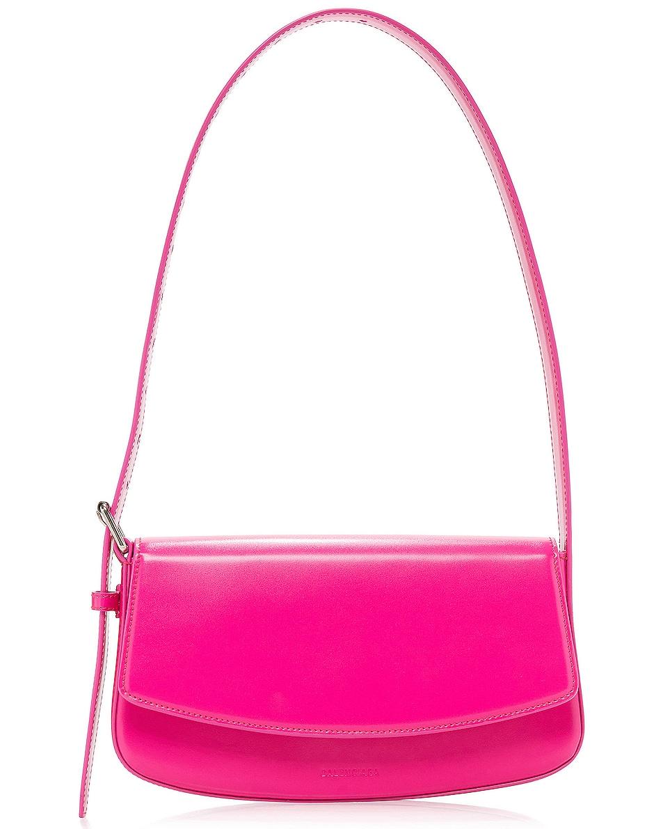 Image 1 of Balenciaga Baguette Belt Bag in Fuchsia