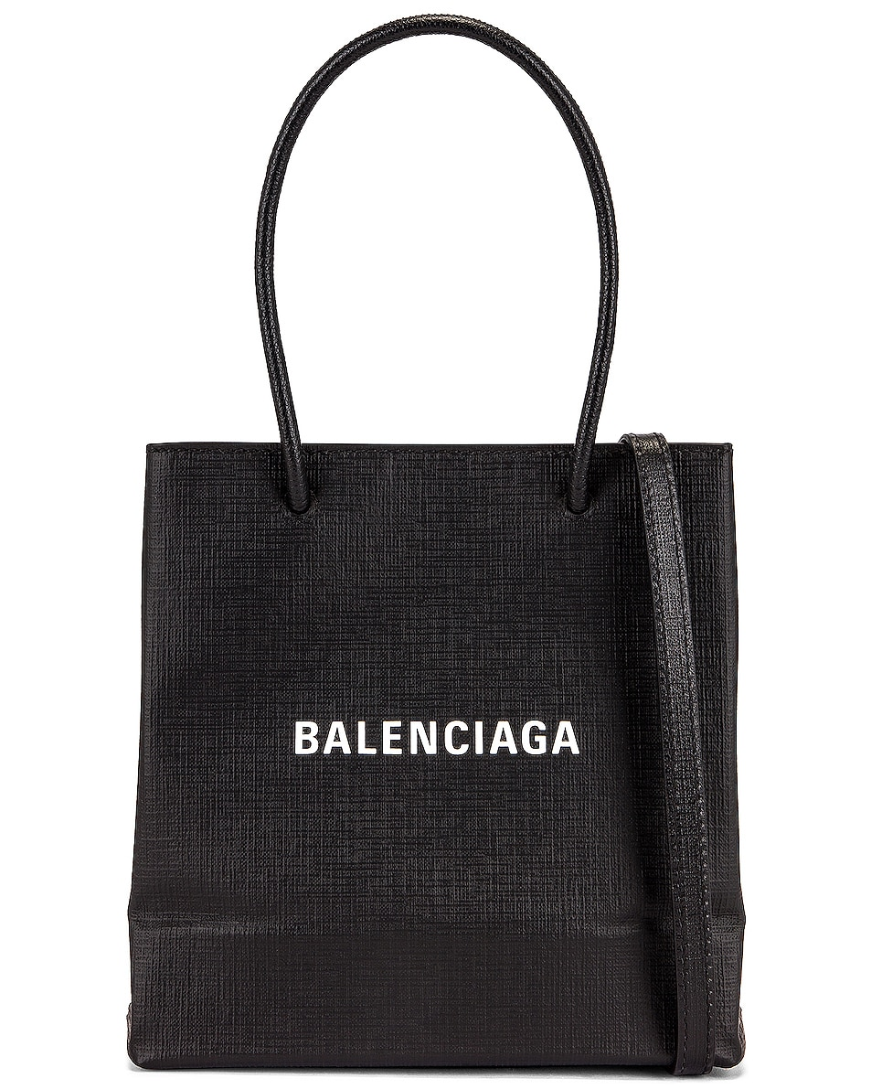 Image 1 of Balenciaga XXS Shopping Tote in Black