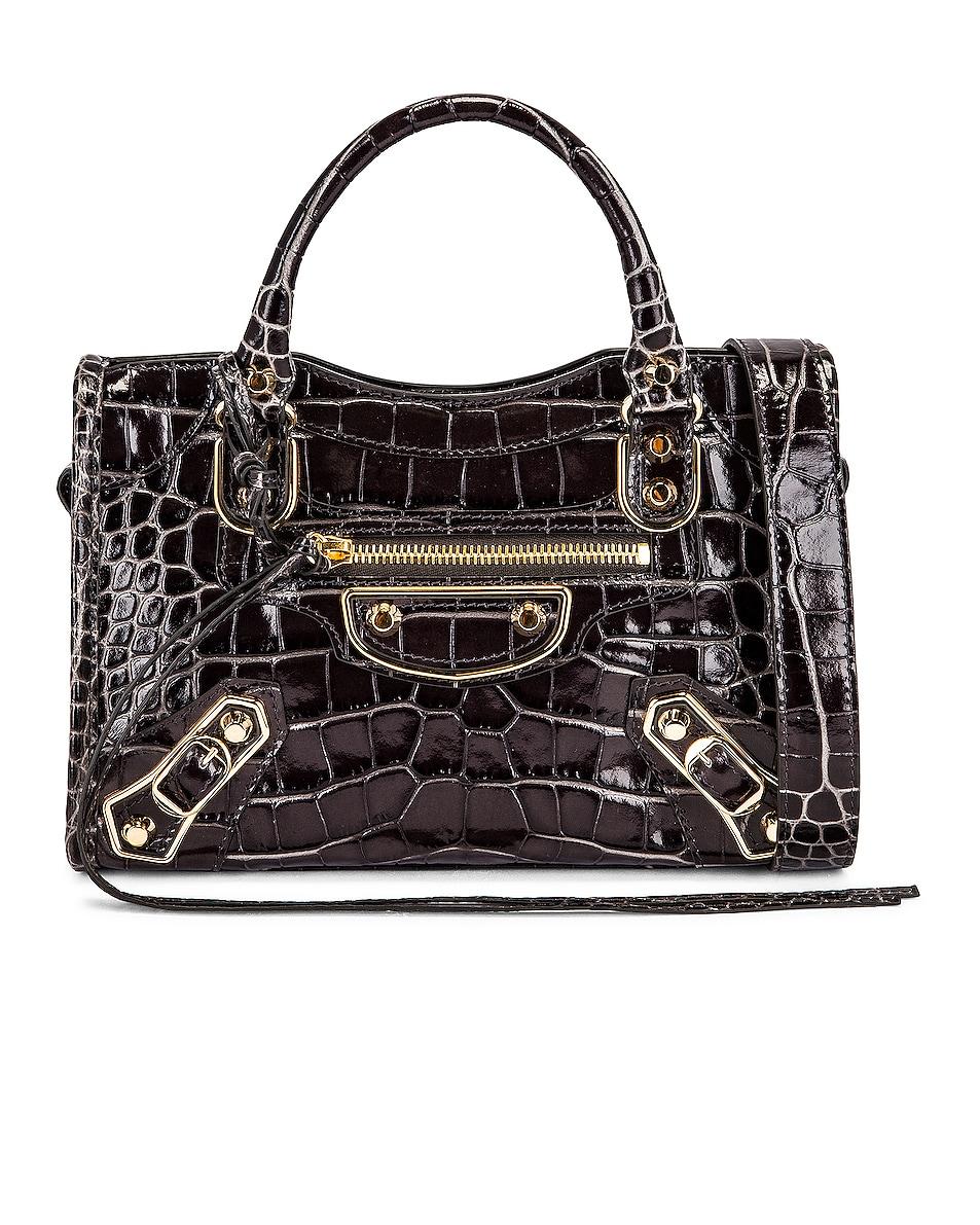 Image 1 of Balenciaga Mini City Bag in Dark Grey