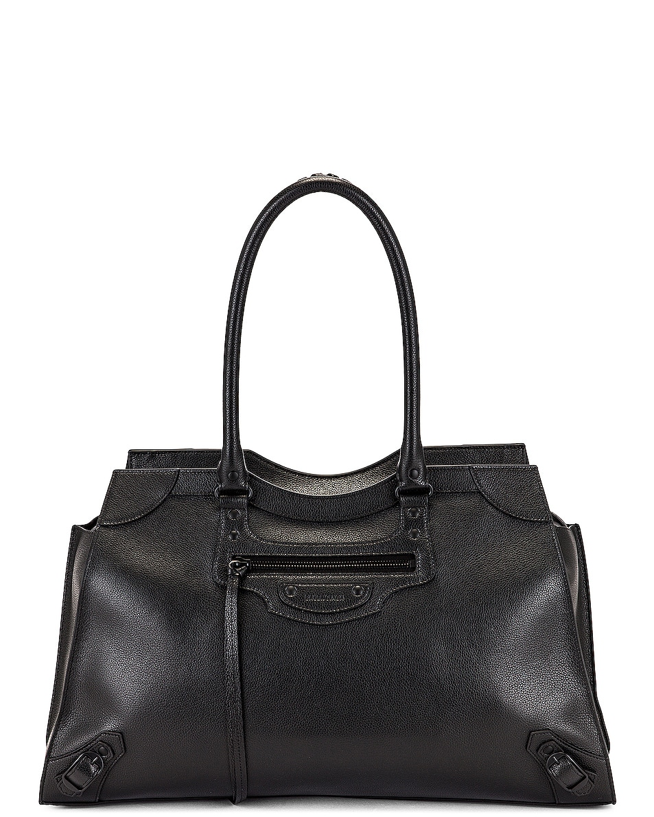 Image 1 of Balenciaga Large Neo Classic City Bag in Black