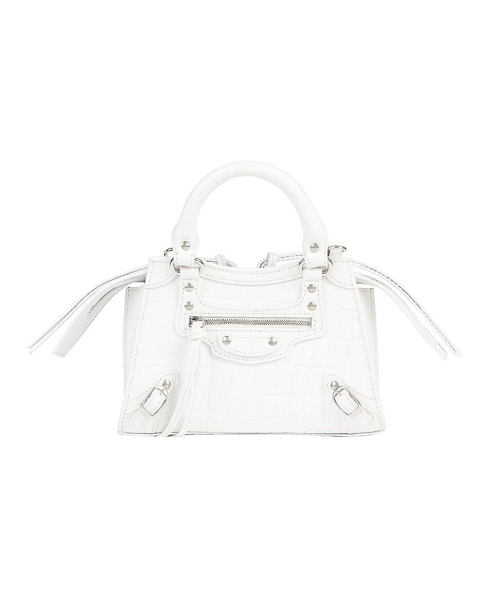 Image 1 of Balenciaga Neo Classic City Mini Bag in White