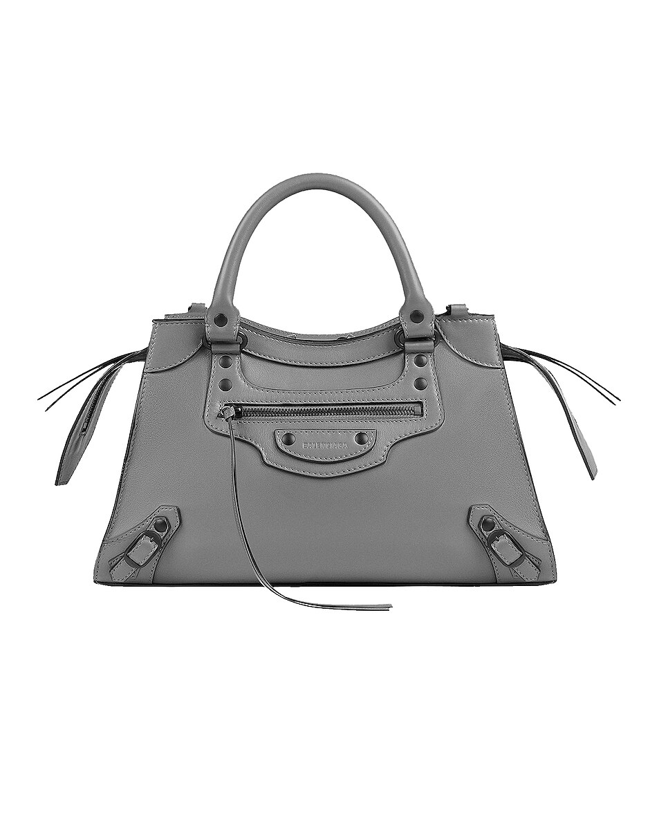 Image 1 of Balenciaga Small Neo Classic City Bag in Dark Grey
