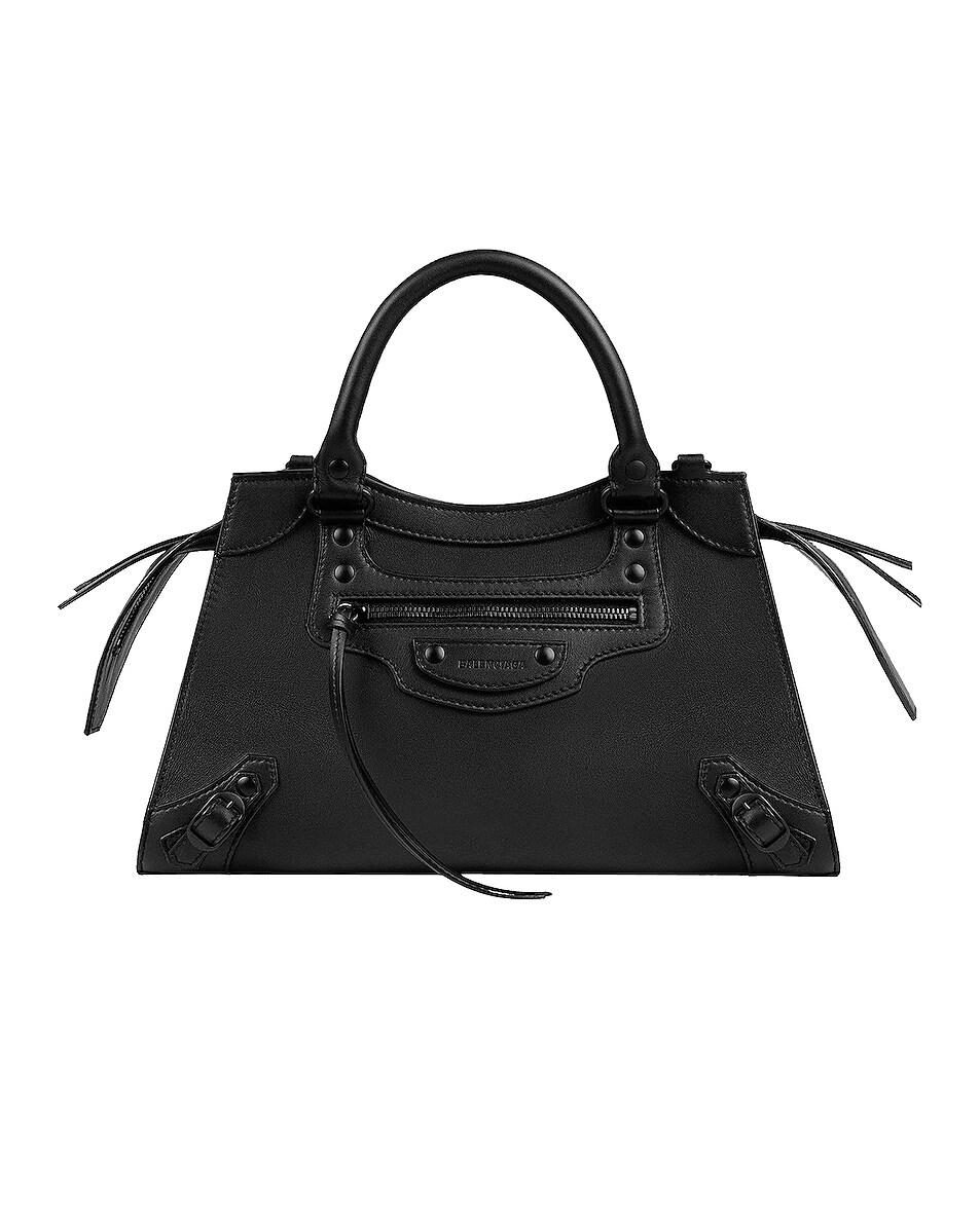 Image 1 of Balenciaga Small Neo Classic City Bag in Black