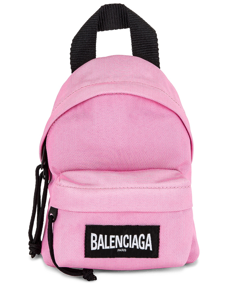 Image 1 of Balenciaga Mini Oversized Backpack in Pink
