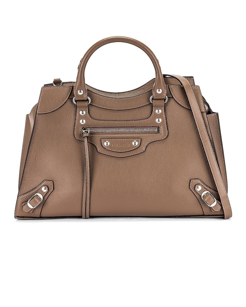 Image 1 of Balenciaga Neo Classic City Bag in Mink Grey