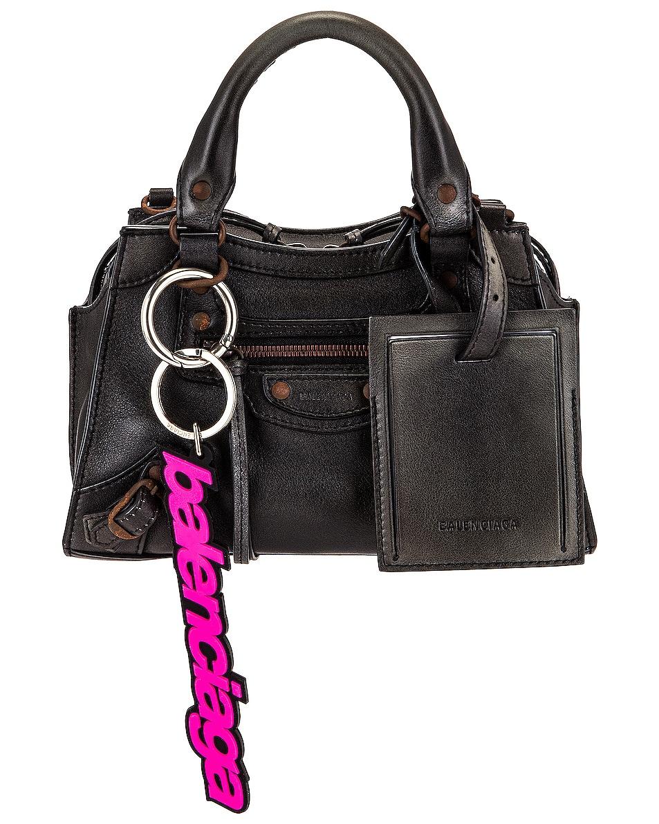 Image 1 of Balenciaga Mini Neo Classic City Bag in Black