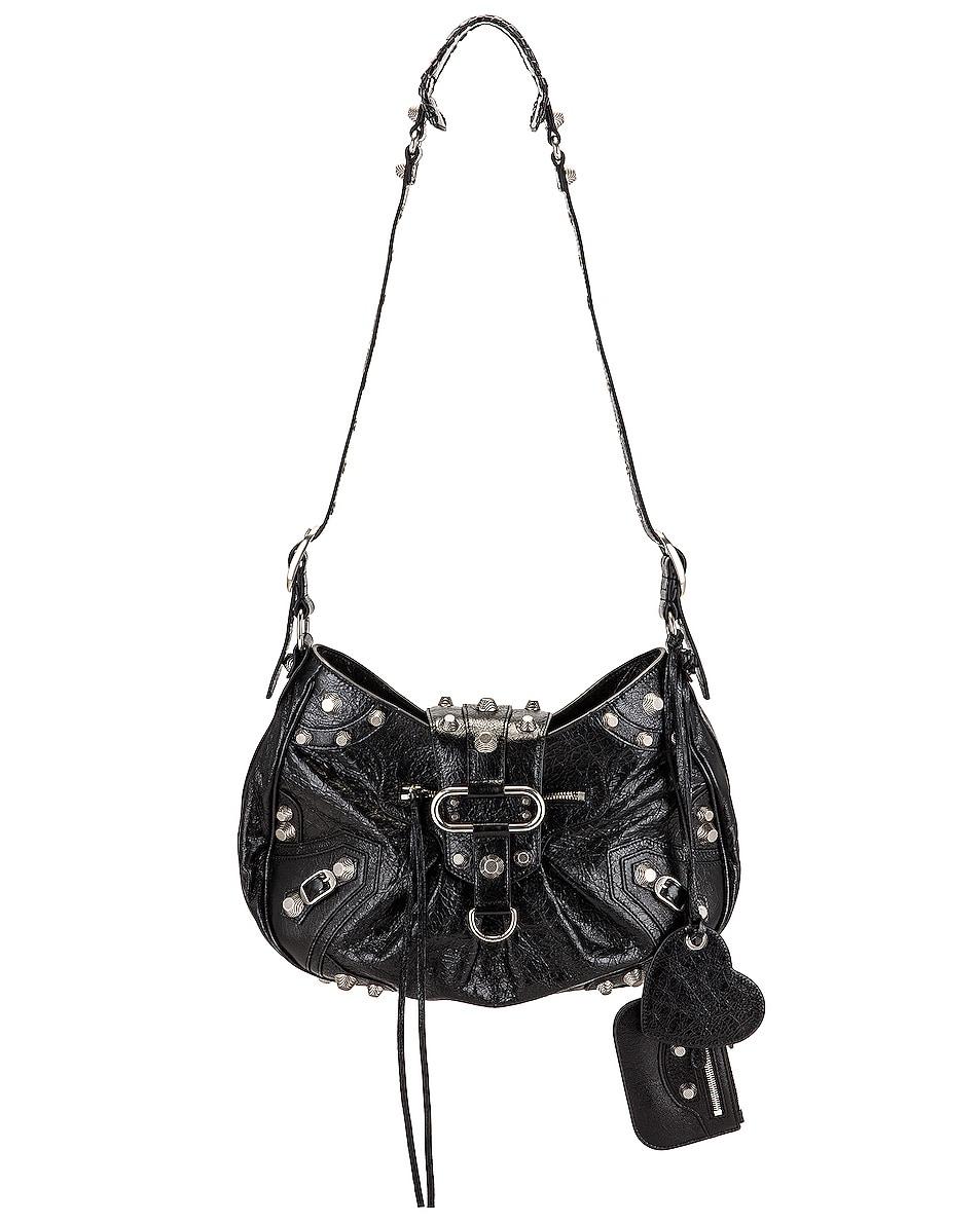 Image 1 of Balenciaga Medium Le Cagole Shoulder Bag in Black
