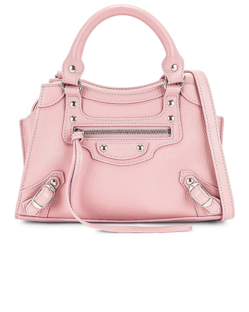 Image 1 of Balenciaga Mini Neo Classic City Bag in Powder Pink