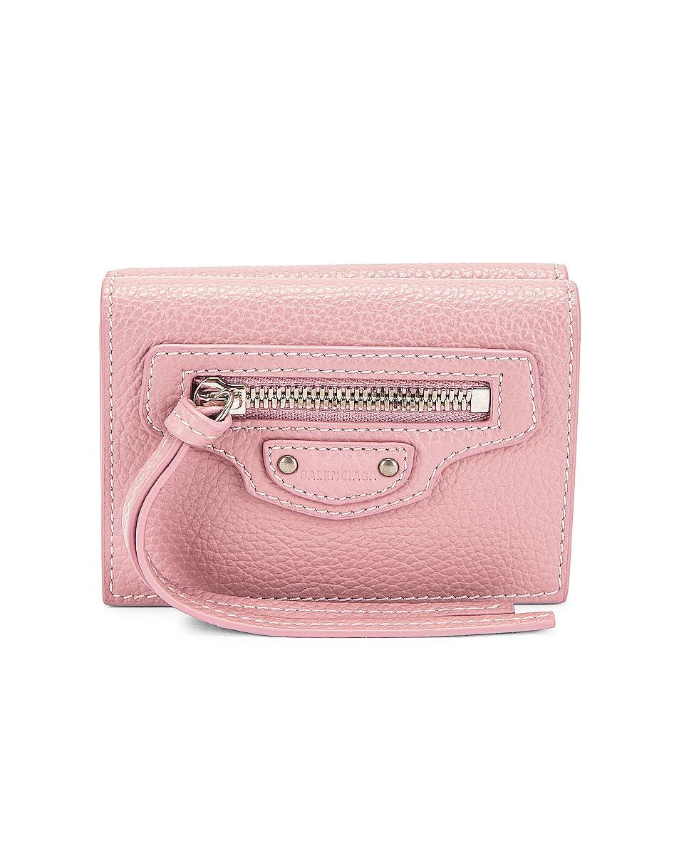 Image 1 of Balenciaga Neo Classic Mini Wallet in Powder Pink