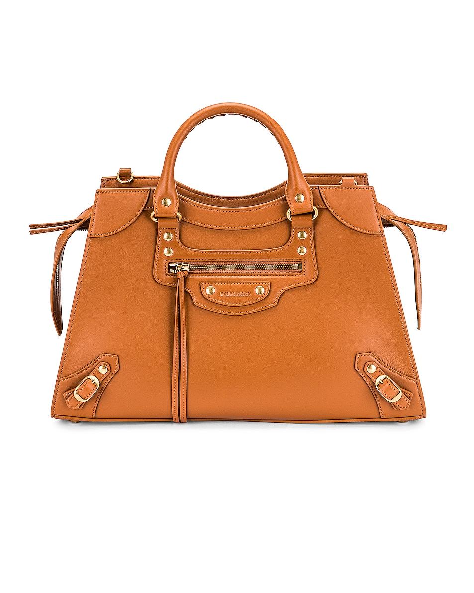 Image 1 of Balenciaga Neo Classic City Bag in Camel