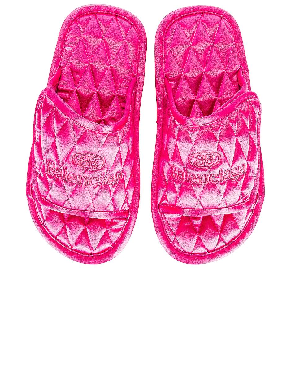 Image 1 of Balenciaga Home Slide Flats in Pink