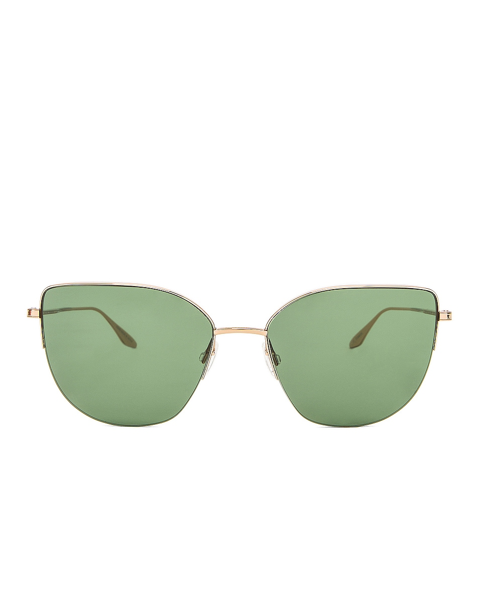Image 1 of Barton Perreira Astria Sunglasses in Gold & Green