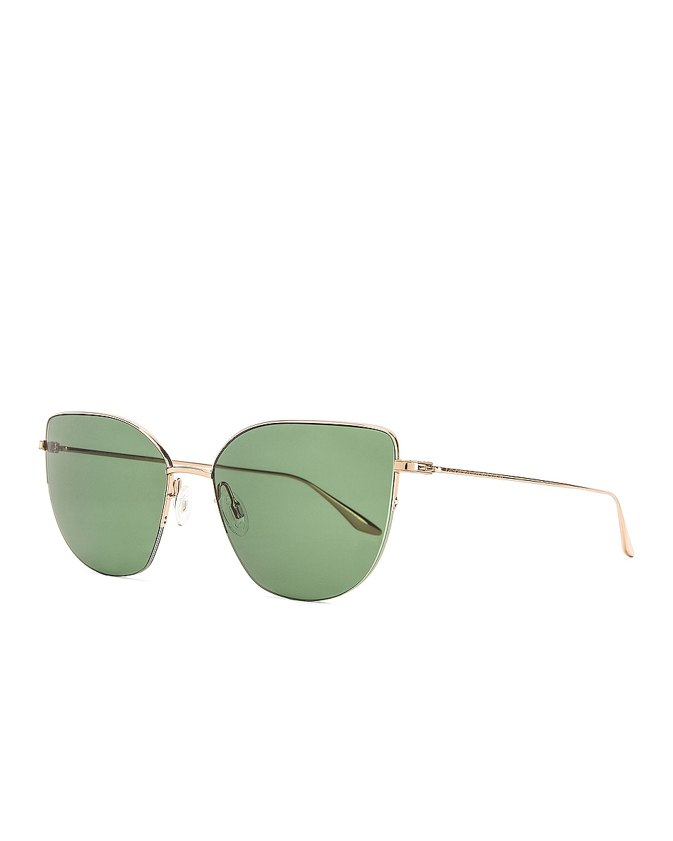 Image 2 of Barton Perreira Astria Sunglasses in Gold & Green