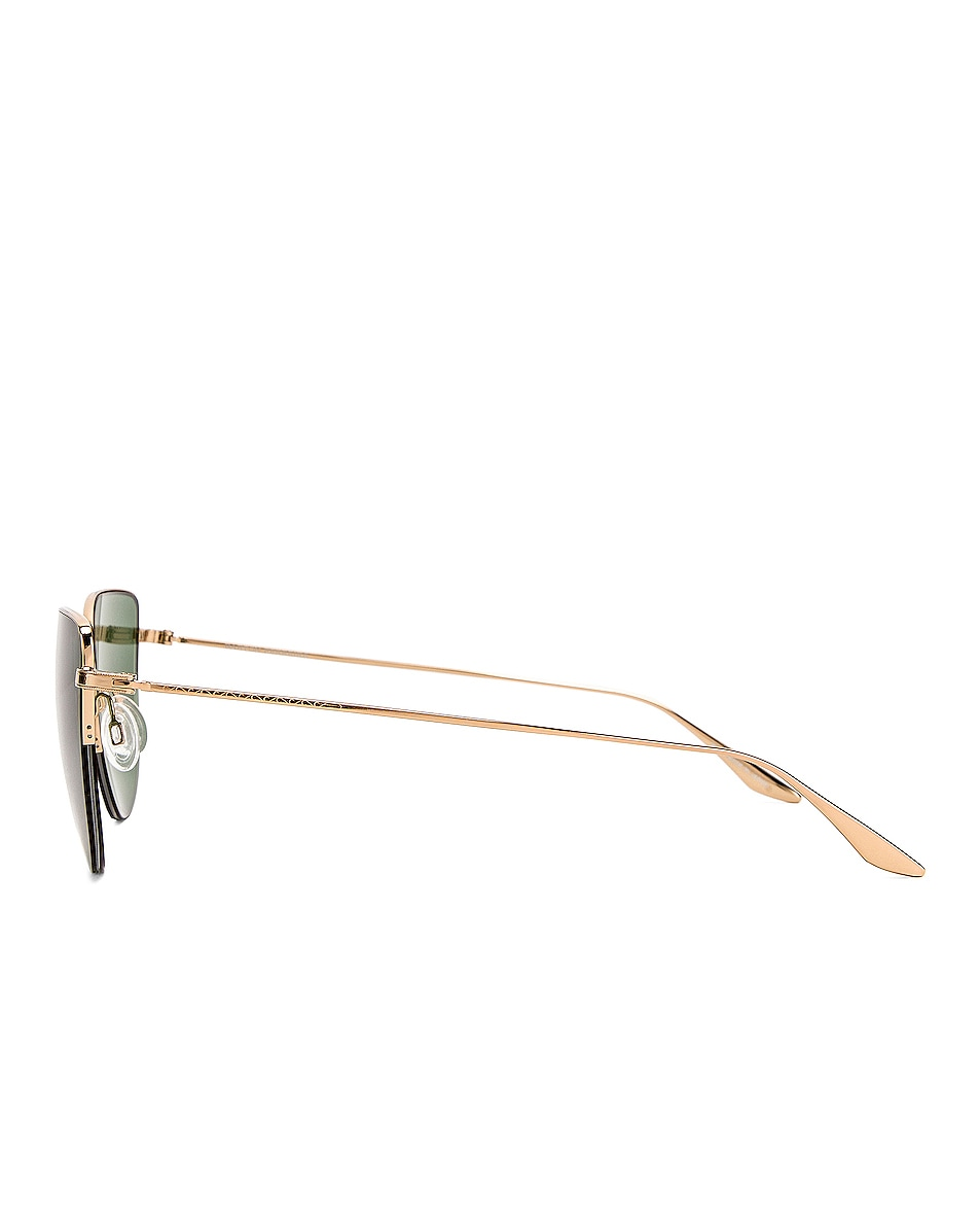 Image 3 of Barton Perreira Astria Sunglasses in Gold & Green