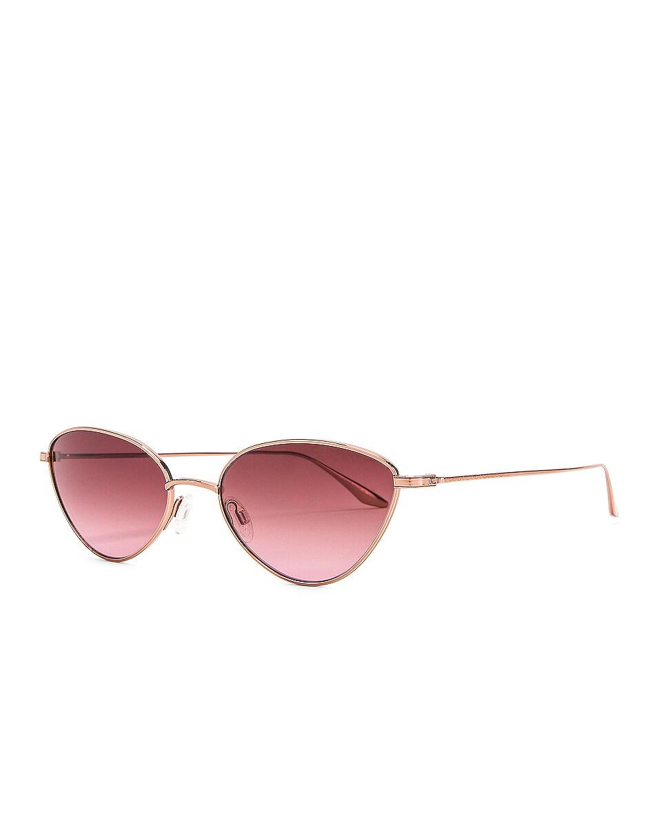 Image 2 of Barton Perreira Calypso Sunglasses in Rose