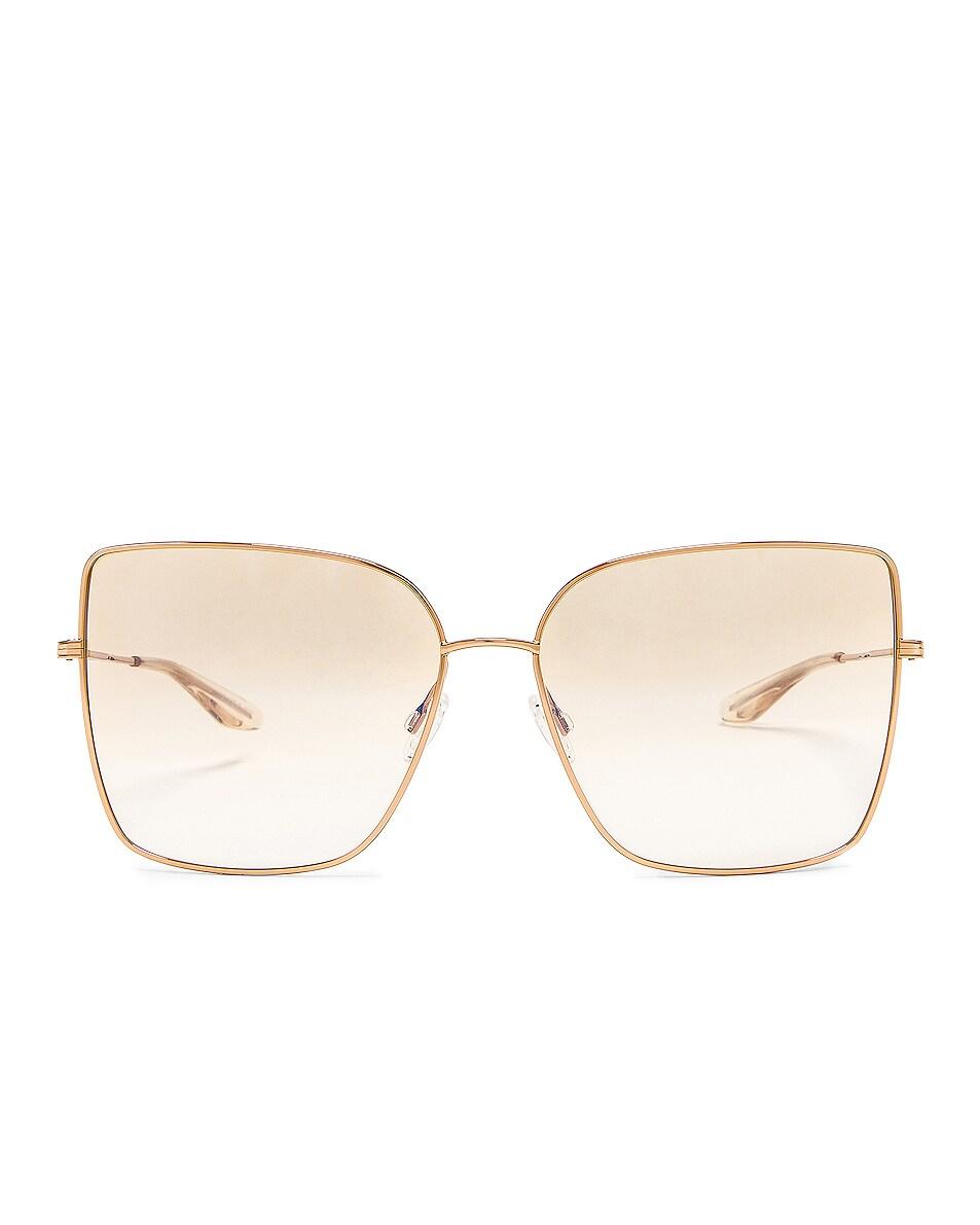 Image 1 of Barton Perreira Mystere Sunglasses in Gold & Yellow