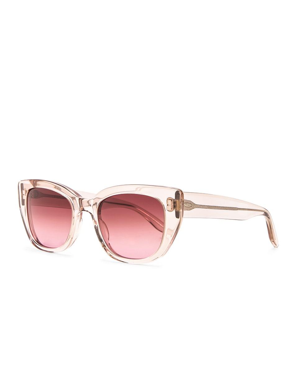 Image 2 of Barton Perreira Kalua Sunglasses in Hush & Desert Lilac