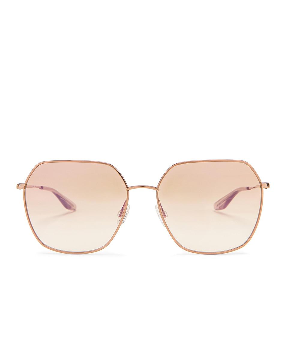 Image 1 of Barton Perreira Sotera Sunglasses in Rose Gold & Xanadu