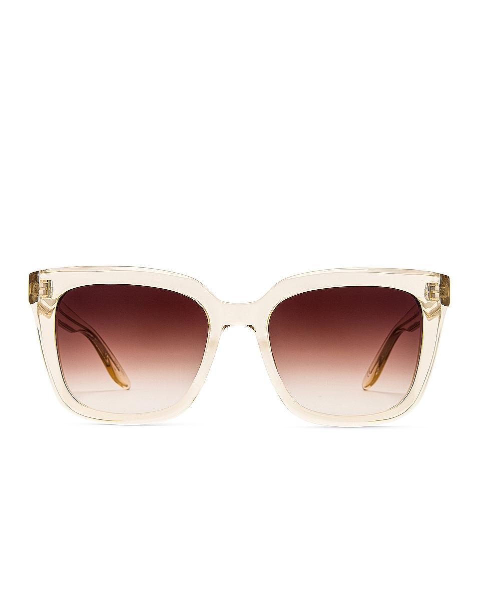 Image 1 of Barton Perreira Bolsha Sunglasses in Champagne & Smokey Topaz