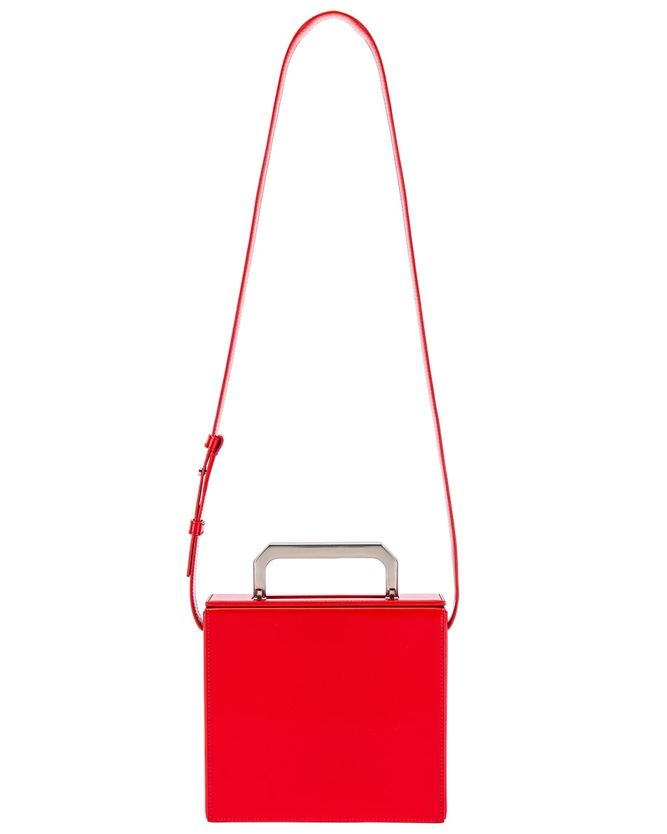 Image 5 of Bottega Veneta Messenger Bag in Bright Red