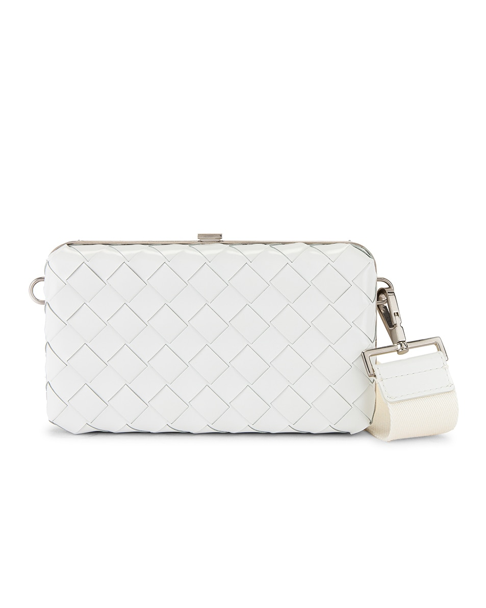 Image 1 of Bottega Veneta Shoulder Bag in White