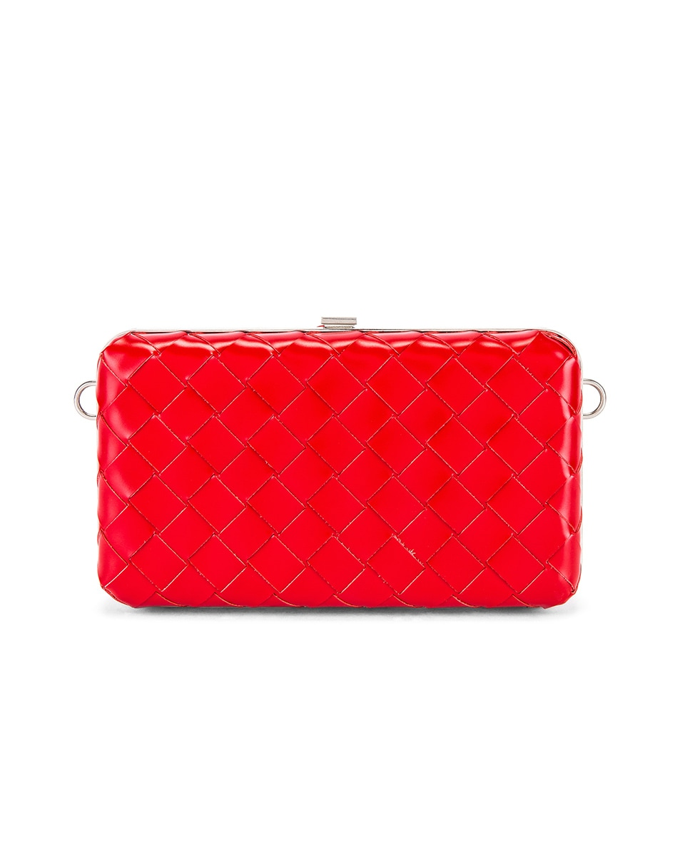 Image 2 of Bottega Veneta Shoulder Bag in Bright Red