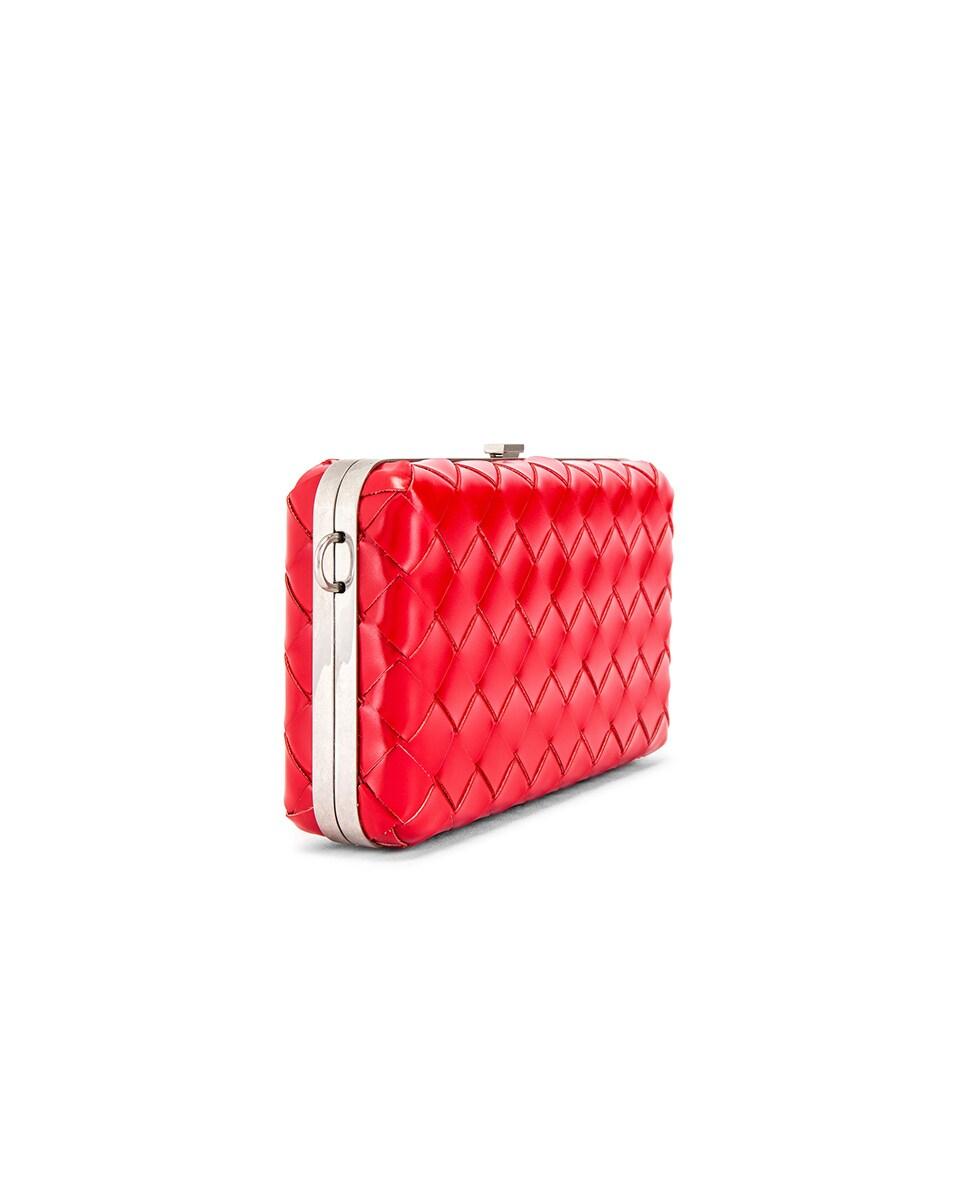 Image 3 of Bottega Veneta Shoulder Bag in Bright Red